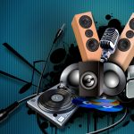 sound equipment for music