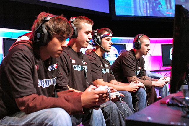 professional gamers