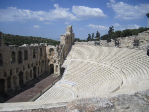 Another theatre- The Odeon of Herodes Atticus