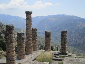 The Ancient Site of Delphi