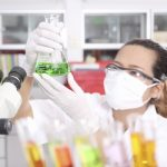 working on a science graduate degree