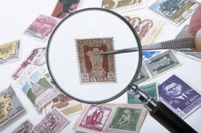 invest your money in collecting rare stamps
