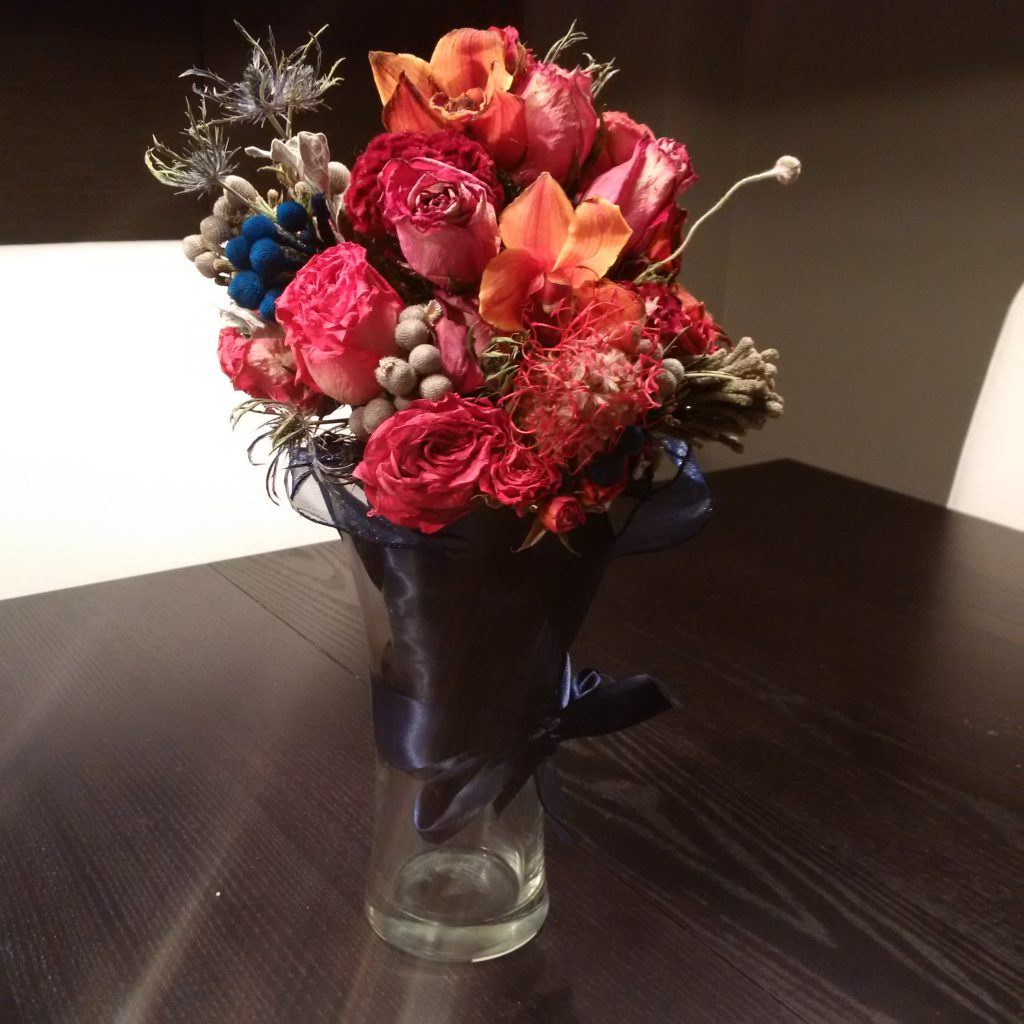 Flowers are only part of the wedding costs