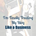 makinthebacon is treating the blog like a business