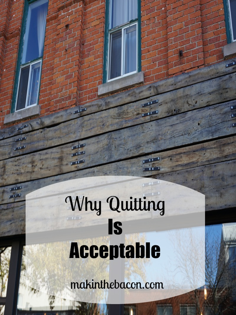 quitting strategically