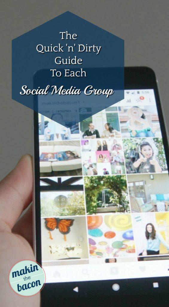 This post gives a quick summary of each social media group for several major social media platforms  #socialmediatips #socialmediastrategy