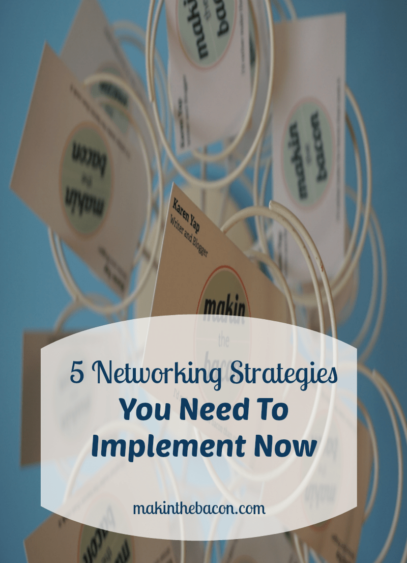 what networking strategies are working for you?