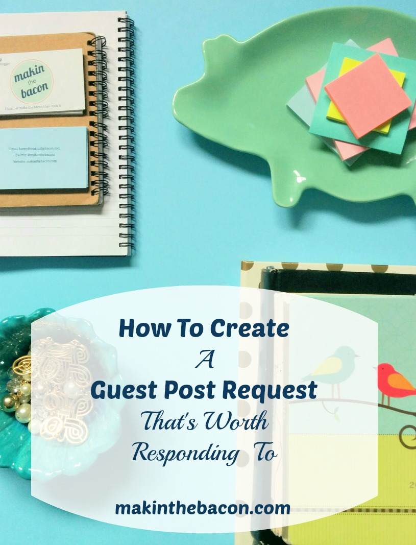 submitting a guest post request the right way