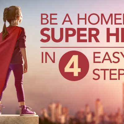 Be A Homepage Hero in 4 Easy Steps