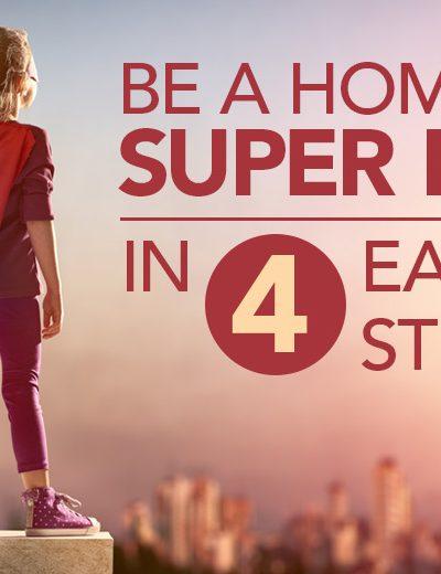 Be A Homepage Hero in 4 Easy Steps