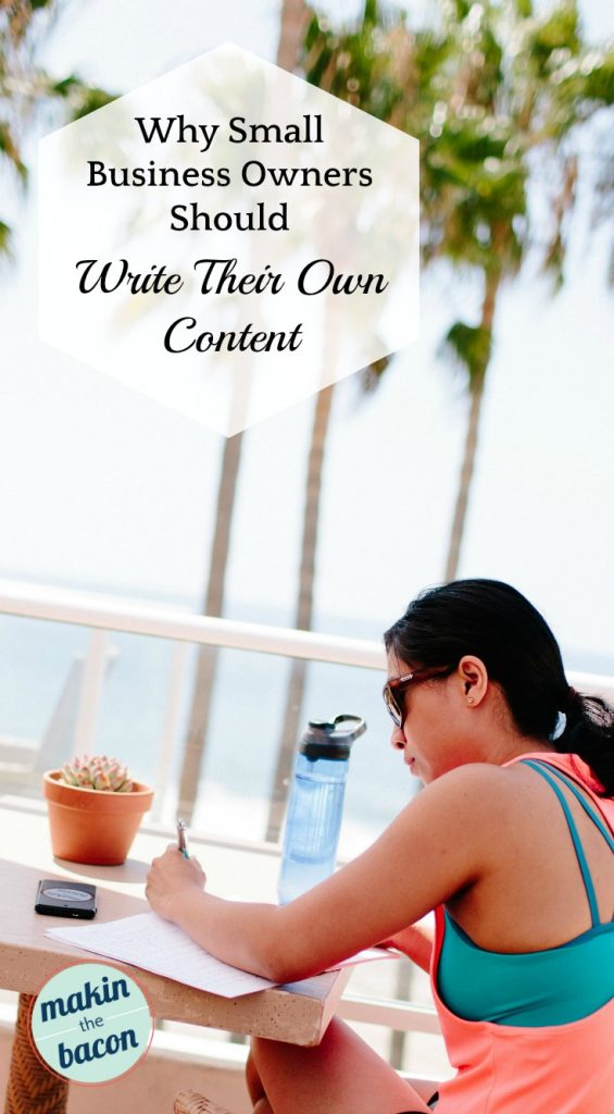 write your own content