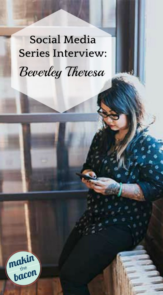Interview with Social Media Strategist - Beverley Theresa