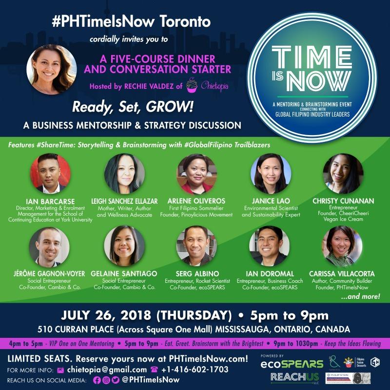 phtimeisnow Toronto