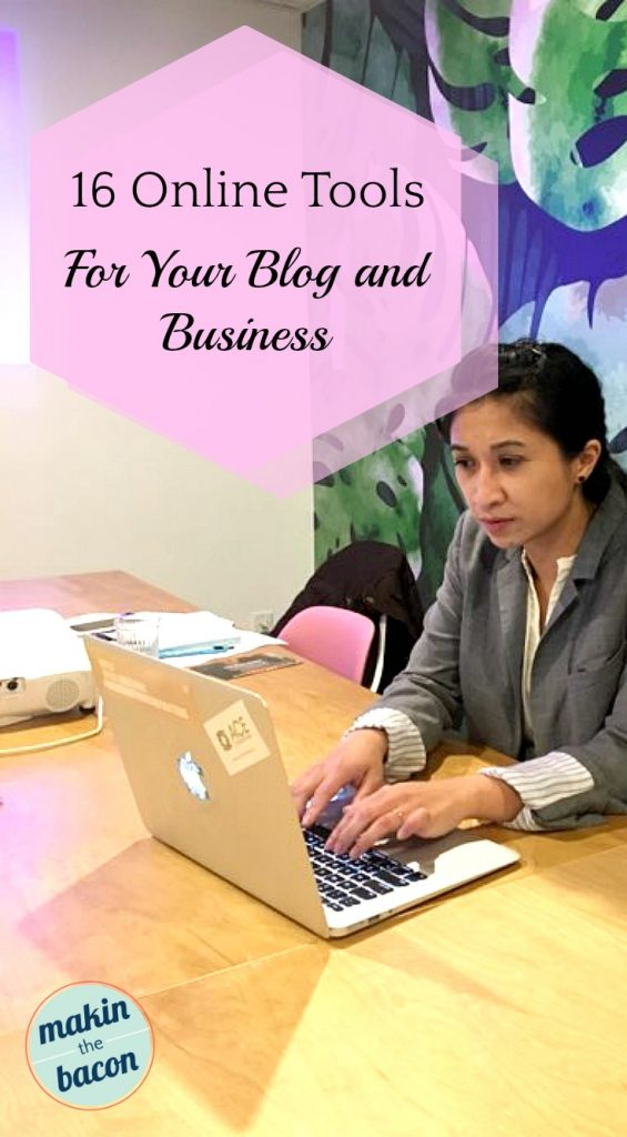 here are my recommedned online tools for your blog and business