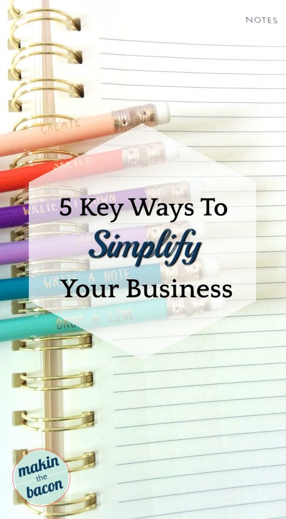 guest post on how to simplify your business