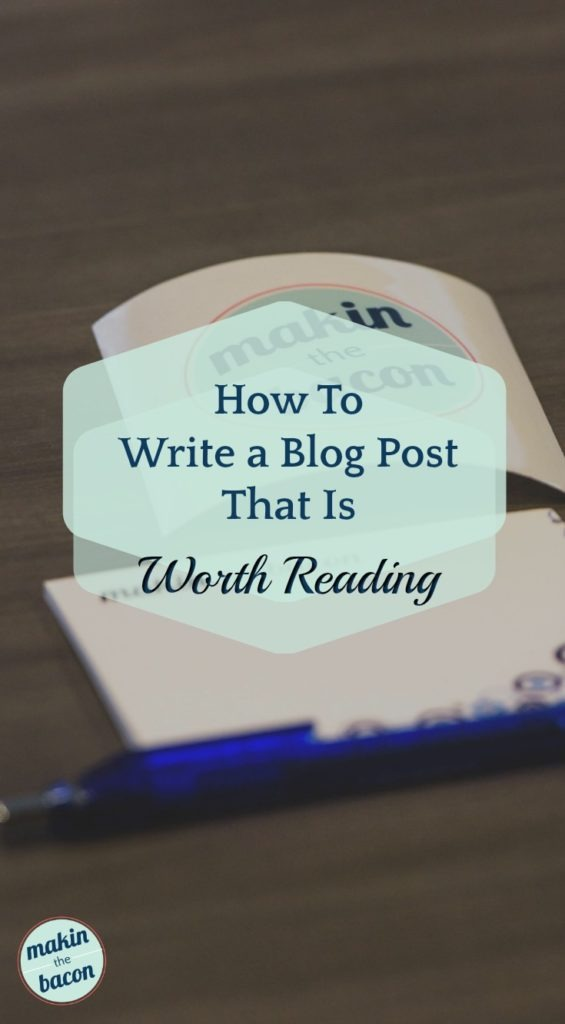 writing a blog post for your business blog