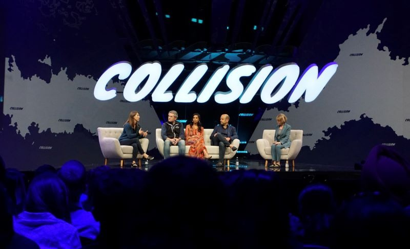 venture capitalist panel discussion at Collision Conferece