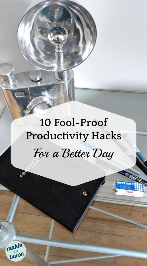 productivity hacks for entrepreneurs and bloggers