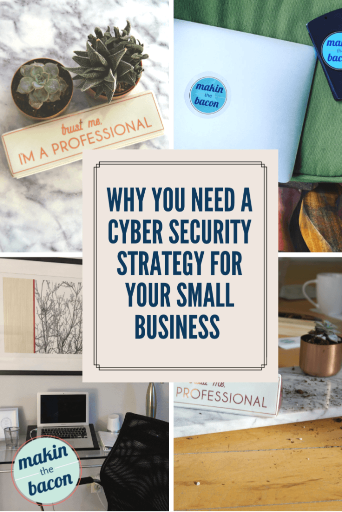 Guest post on how to develop a cyber security strategy for your small business