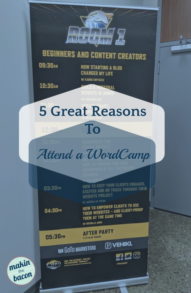 WordCamp Hamilton 2019, reasons to attend and speak at a WordCamp
