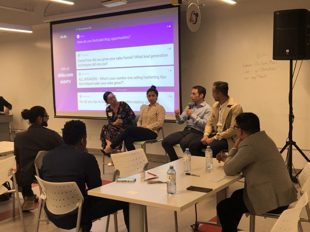 Panel discussion on how to get more sales through story-telling and relationship building with 6initiative - whose mission is to provide valuable events and networking curated to inspire and develop the community to pursue entrepreneurism.