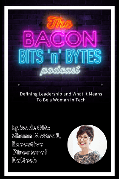 Podcast interview with Haltech Executive Director, Shann McGrail
