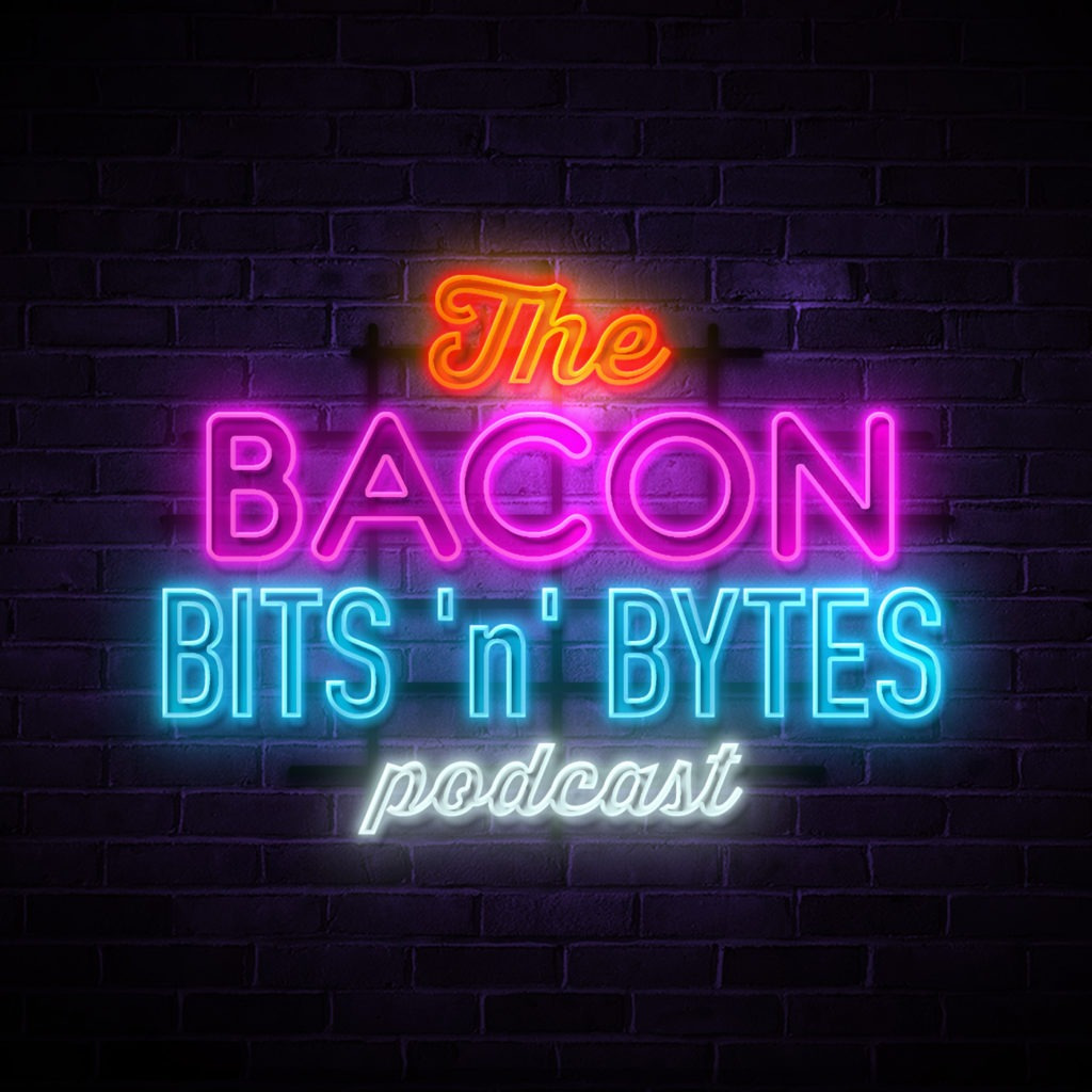 logo for The Bacon Bits 'n' Bytes Podcast