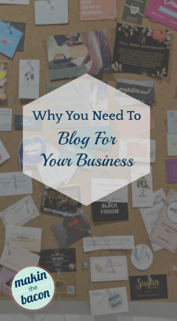 Reasons why you need to blog for your business and how it can help your business