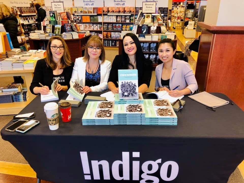 Co-authors of Fitness To Freedom Book Signing at Chapters Indigo