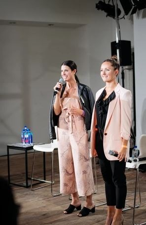 Friends, Dancers and Co-founders Dani Kagan and Victoria Marshman of City Moguls
