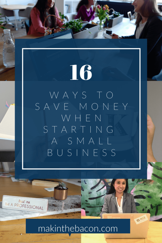 it's important to try and keep your expenses as low as possible in the beginning, ways to save money when starting a small business