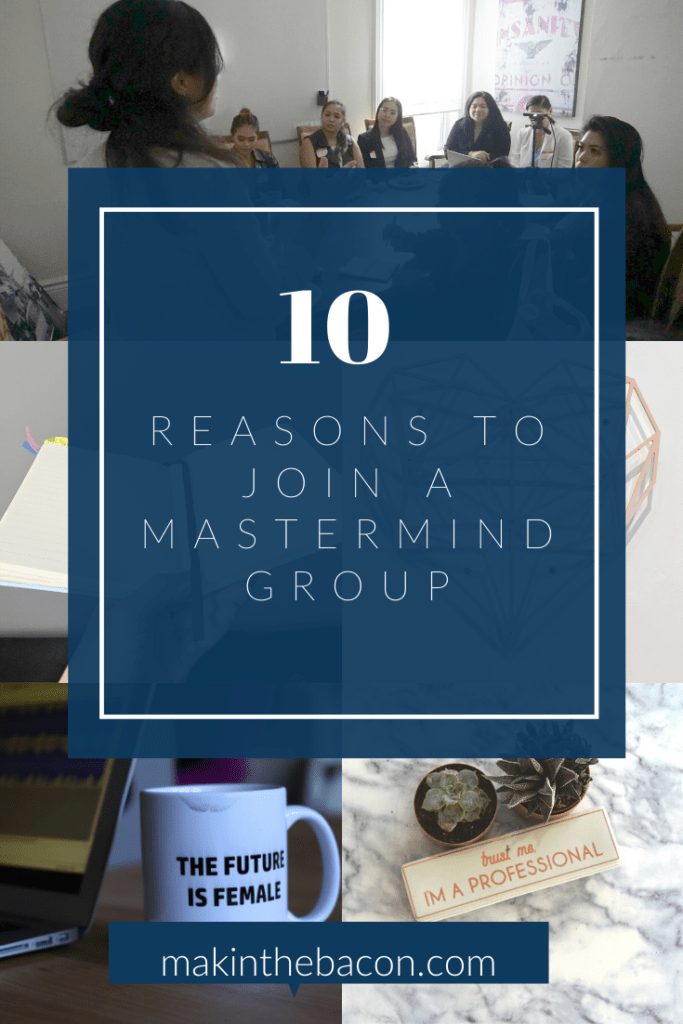 join a mastermind group to move your business forward