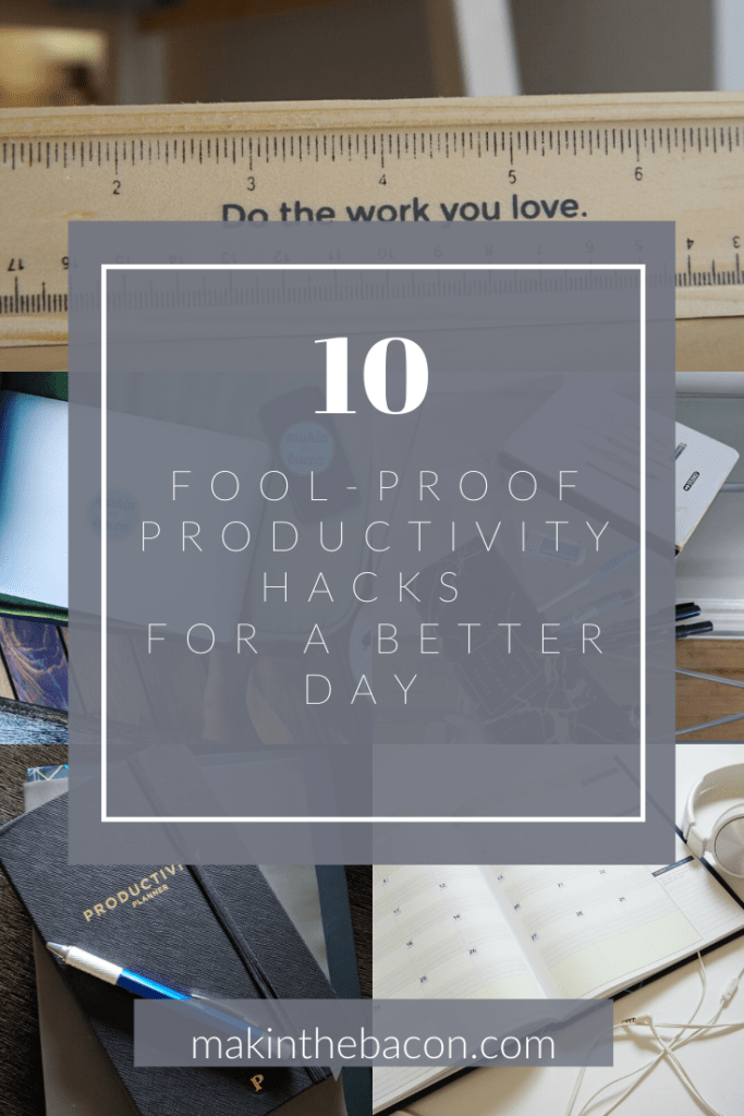 Productivity isn't about doing more things. It's about doing less things, but these things are significant.