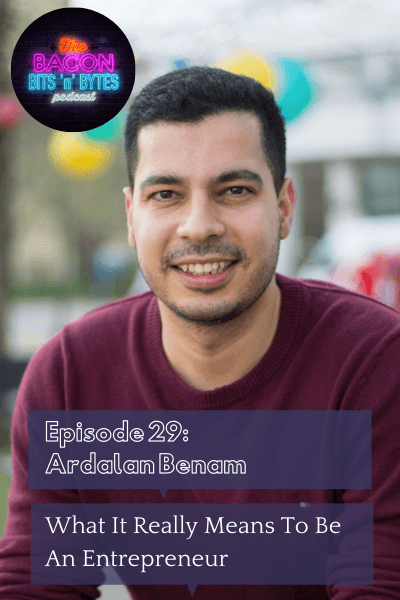 Ardalan Benam - Serial Entrepreneur, AI Scientist and Next 36 Alumnus