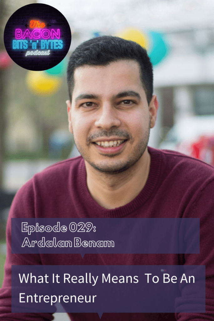 Show notes from Podcast Interview with AI scientist and Serial Entrepreneur Ardalan Benam of Podion